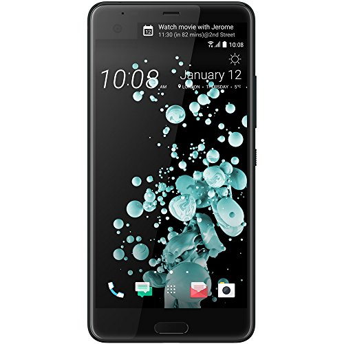 HTC U Ultra 64 GB SIM-Free Smartphone - Brilliant Black