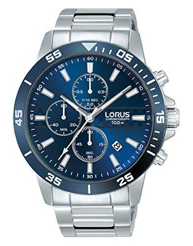 Lorus Orologio Cronografo Quarzo Uomo con Cinturino in Acciaio Inox RM303FX9