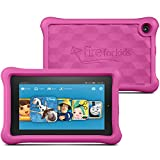 "Fire Kids Edition Tablet, 7"" Display, Wi-Fi, 16 GB, Pink Kid-Proof Case (Previous Generation)"