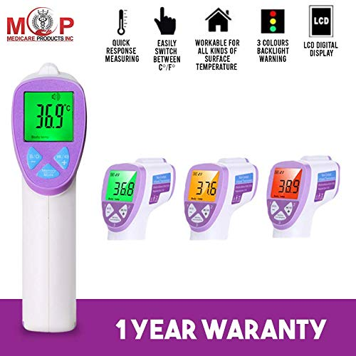 MCP Medical Infrared Forehead Thermometer Gun For Fever used for Baby and Adult