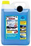 SONAX AntiFrost&KlarSicht Konzentrat (5 Liter) ergibt bis zu 15 Liter Winter-Scheibenwaschwasser, sofort mischbereit