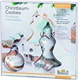 Birkmann 145085 Ausstechformen-Set Christbaum-Cookies