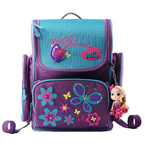 delune Premium Mariposas 1–003Niños Mochila Mochila bolsillos para niña