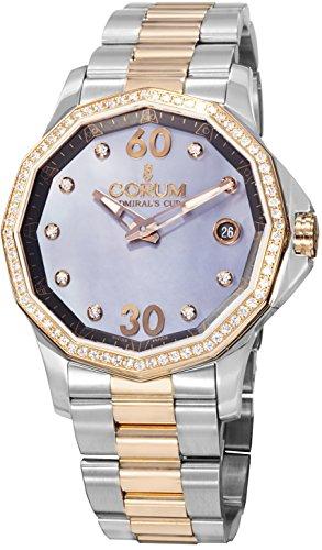 Corum Admirals Cup Damen Diamanten 38mm Automatikwerk Uhr 082.101.29-V200PK10