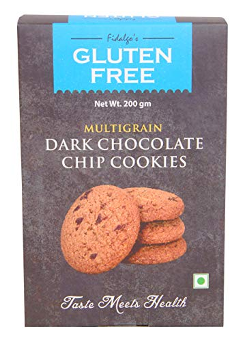 Fidalgo's Gluten Free Multigrain Dark Chocolate Chip Cookies 200g