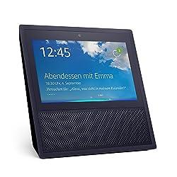 Kaufen Echo Show (1. Gen.), Intelligenter Lautsprecher mit 7-Zoll Bildschirm und Alexa - schwarz