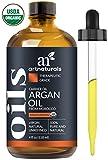 ArtNaturals USDA - Aceite de argán morrocano orgánico para el pelo, la cara y la piel, 100% puro grado A triple extra virgen prensado en frío de los núcleos del árbol de argán, antiarrugas y antienvejecimiento