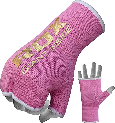 RDX Donna Fasce Boxe Bende per Mani Polsi Pugilato Elastiche Bendaggi MMA Guanti Interi Sottoguanti