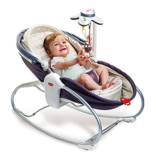 Tiny Love 3-in-1 Cozy Rocker Napper (Gray)