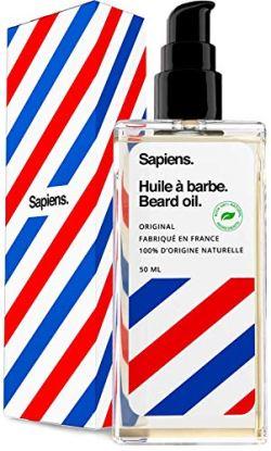 Olio da Barba 100% Origine Naturale con oli vegetali e vitamine