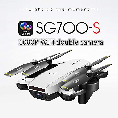 SG700-S RC Drone Quadricottero con Doppio Fotocamera 1080P Wifi FPV Pieghevole Seguito Intellegente...