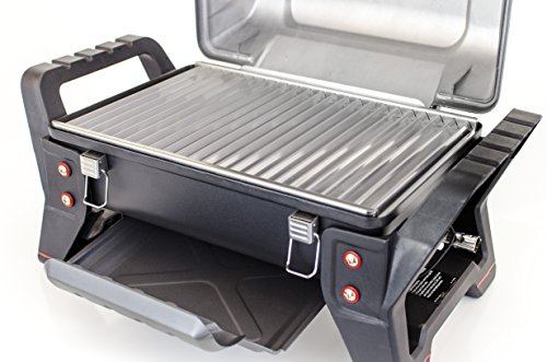 The Char-Broil X200 Grill2Go with its TRU-Infrared technology is a gas model that is sold as a premium product and first impressions, very well built but looks like the grill could be a little awkward to clean.