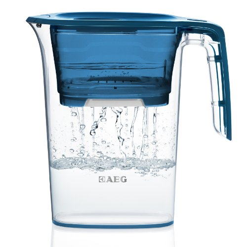 AEG AquaSense 2.3L water filter jug with cartridges bundle (blue) (1 month of AEG PureAdvantage PAA6P) (1 cartridge)