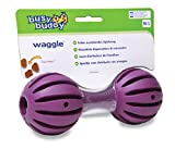 PetSafe Busy Buddy Hundespielzeug Waggle M/L, befüllbarer Snackball, Zahnpflege für Hunde, mittelgroße und große Hunde