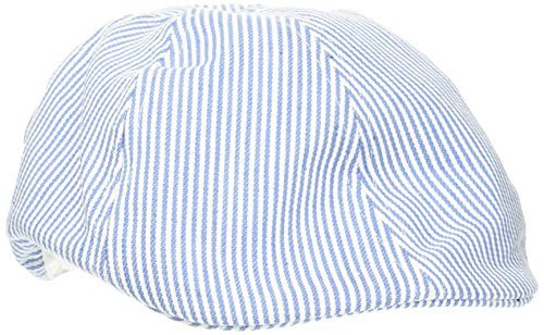 Melton Baby-Jungen Kappe Schirmmütze Sixpence UV30+, Mehrfarbig (French Blue 225), 47