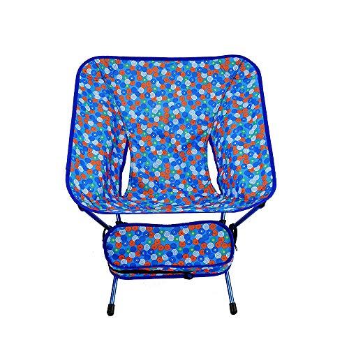 CFR-Chair Seggiolone da Campeggio Pieghevole Portatile/Sedia da Pesca all'aperto/Sedia da Spiaggia per Il Tempo Libero/Sedia da Luna in Alluminio aeronautico,b