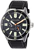Spinnaker Hass Diver Men's Automatic Watch with Black Dial Display on Water Proof Genuine Leather Strap  SP-5032-01