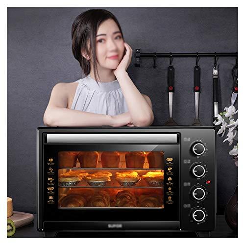 QPSGB Forno-Mini-Forno con Grill, Include griglia e Forno per panificazione Forno a microonde da 35...