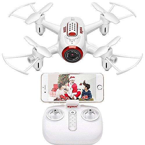 X22W RC Drone FPV Quad Copter con Videocamera HD Nano WiFi Pocket Drone per Principianti modalità...