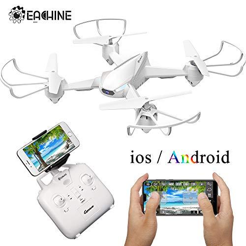 EACHINE E32HW Drone con Telecamera HD 2.0MP 550mAh WiFi e FPV App Funzione di Sospensione Altitudine...