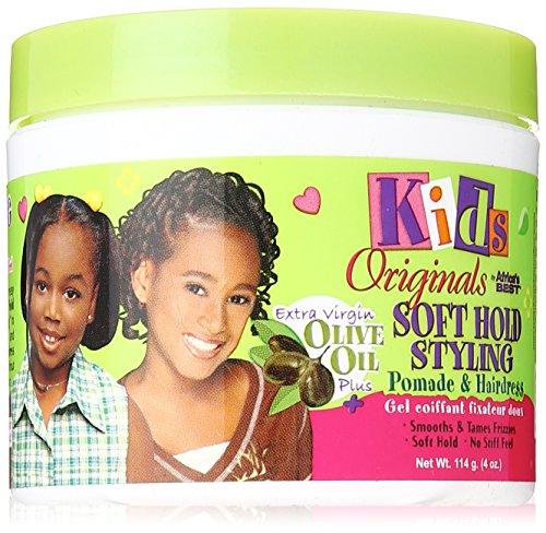 Africa's Best Kids Organic Pomade & Hairdress 4 oz. Jar