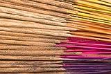 100 varitas de incienso indias hechas a mano con una mezcla aleatoria de 11 esencias diferentes: nag...
