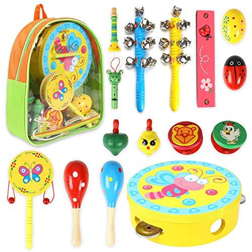 Kit Instrumentos Musicales para niños 15 en 1