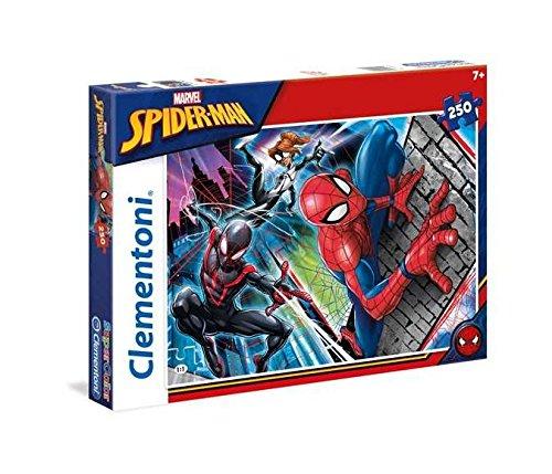 Clementoni - 29053 - Supercolor Puzzle - Spiderman - 250 Pezzi