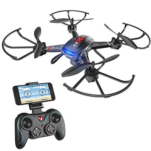 Holy Stone Drone F181W Elicotteri Quadrotor FPV con Videocamera HD WIFI Funzione di Altezza di Volo...