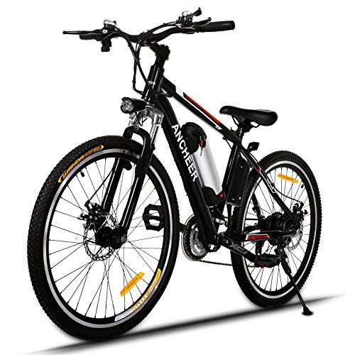 Ancheer-Vlo-Electrique-Montagne-E-bike-250W--Grande-Vitesse-Motor-E-Bike-avec-Batterie-Amovible-au-Lithium-26-Noir-Rouge