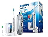 Philips Sonicare FlexCare Platinum Elektrische Zahnbürste mit Schalltechnologie HX9172/15, mit UV-Reinigungsgerät, weiß