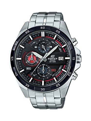 Casio Orologio Cronografo Quarzo da Uomo con Cinturino in Acciaio Inox EFR-556DB-1AVUEF