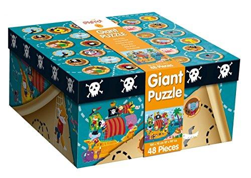 Ludattica 47222 - Giant Puzzle The Pirate Ship