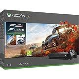 Microsoft Xbox One X, schwarz - Forza Horizon 4 & Forza Motorsport 7 Bundle