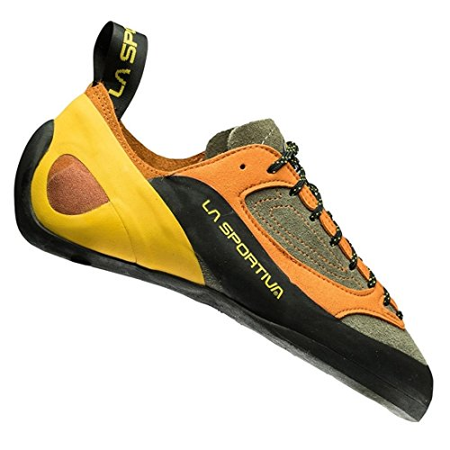 La Sportiva Finale, Zapatos de Escalada para Hombre, (Brown/Orange 000), 43 EU