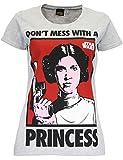 Star Wars - Maglietta a maniche corta da donna - Principessa Leia - Medium