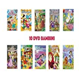 OFFERTA 10 DVD - Le fiabe più famose . Buona animazione semplice e adatta a bambini età prescolare No Walt Disney ( LA SIRENETTA , BIANCANEVE , ROBIN HOOD , IL GATTO CON GLI STIVALI , POLLICINA , LO SCHIACCIANOCI , HANSEL E GRETEL , ALADINO , CAPPUCCETTO ROSSO , IL MAGO DI OZ )
