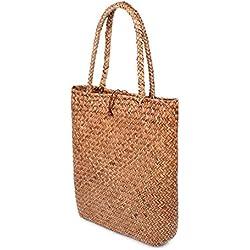 Handtasche aus Korb, so schön sommerlich