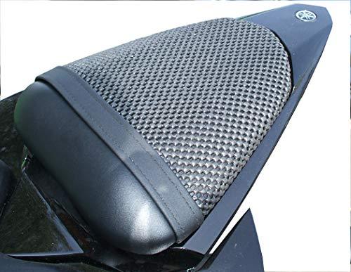 Triboseat Coprisella Passeggero Antiscivolo Nero Compatibile Con Yamaha YZF R6 (2006-2016)