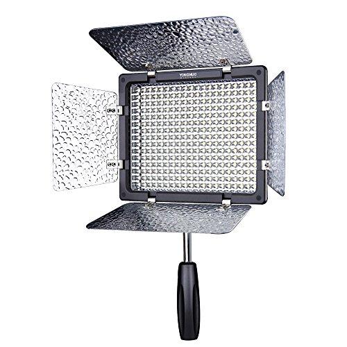 Yongnuo YN-300 III Camera LED Luce video regolabile 5500k temperatura del colore per DSLR Canon...