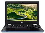 """Acer Chromebook CB3-131-C4SG 11,6"""" HD Bleu/Noir (Intel Celeron, 4 Go de RAM, eMMc 16 Go, Intel HD Graphics, Chrome OS)"""