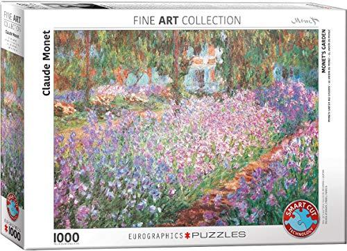 Eurographics 04908 Monet: Giardino, Puzzle, 1000 pezzi