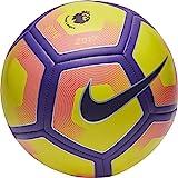 NIKE PITCH PREMIER LEAGUE FOOTBALL 2017/2018, Multicolor (Yellow / Purple / Black), size 5