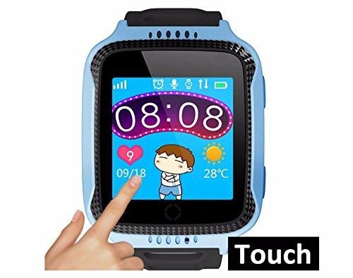 Original Kid GPS Smart Watch With Flashlight Baby Watch SOS Call Location Device Tracker for Kids elder Safe PK Q90
