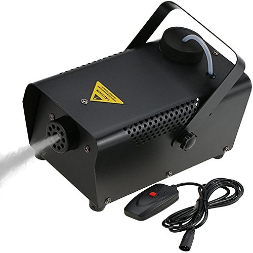 Tomshine 400W Nebelmaschine,Rauchmaschine mit Draht-Fernbedienung, 200ml Große Kapazität für Moving Head,Disco Beleuchtung,Led scheinwerfer,für Halloween Hochzeit Party Club