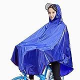 Ponchos Imperméables-Bleu,Solocil Ponchos Pluie Imperméables adapté pour la pêche, la randonnée, le camping, les voyages, la randonnée et d'autres activités de plein air