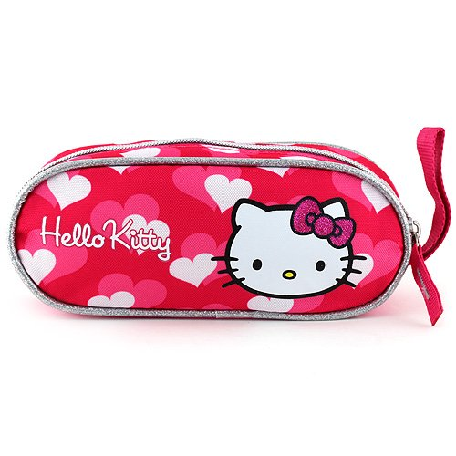 Target Hello Kitty Mini Pencil Case Astuccio, 23 cm, Rosa (Pink)