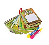 AEVEA Libro para Colorear La Magia del Agua con 2 Pluma del Agua Agua Reutilizable Dibujo Libro 26Pcs