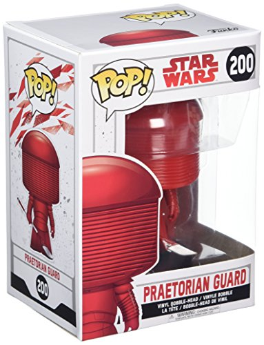 Star Wars - Figuara de vinilo: POP! Bobble: Star Wars: E8 TLJ: Pratorian Guard