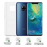 Huawei Mate 20 (Blu) più Cover Originale, Telefono con 128 GB, Display 6.53' Full HD+, Processore Octa Core dinamico con Intelligenza Artificiale [Versione Italiana]